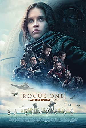 movie poster of Rogue One: A Star Wars Story