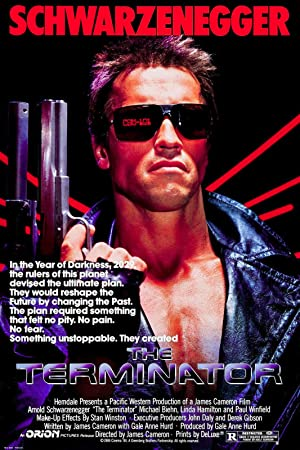 movie poster of The Terminator