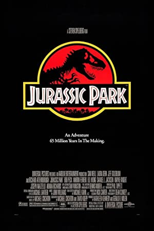 movie poster of Jurassic Park