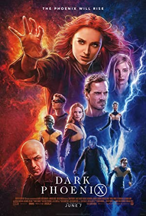 movie poster of X-Men: Dark Phoenix
