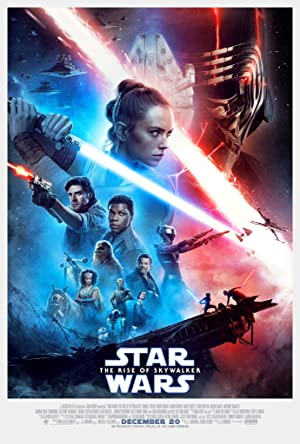 movie poster of Star Wars: Episódio IX - A Ascensão de Skywalker
