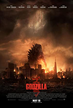 movie poster of Godzilla