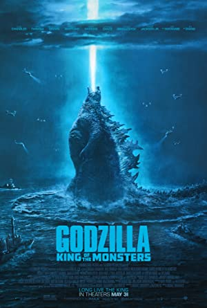 movie poster of Godzilla: King of the Monsters
