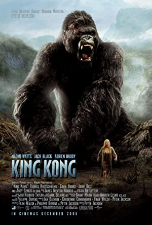movie poster of King Kong