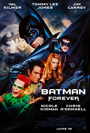 movie poster of Batman Forever streaming (where to watch online?)