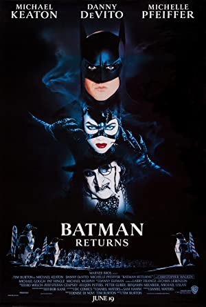 movie poster of Batman Returns
