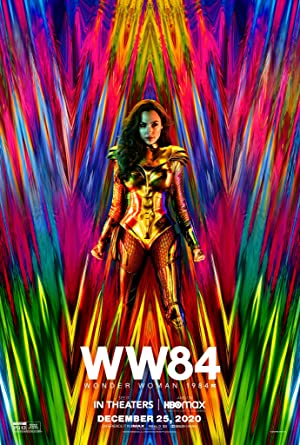movie poster of Wonder Woman 1984
