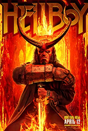 movie poster of Hellboy (2019)