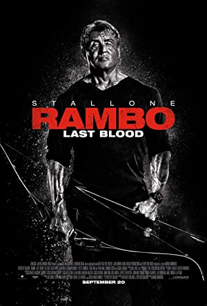 movie poster of Rambo: Last Blood