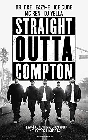 movie poster of Straight Outta Compton