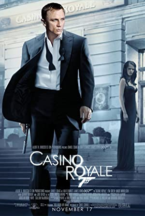 movie poster of Casino Royale