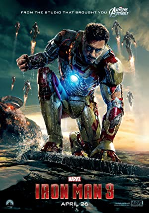 movie poster of Iron Man 3