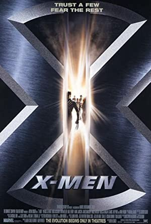 movie poster of X-Men