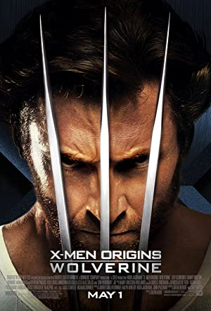movie poster of X-Men Origins: Wolverine