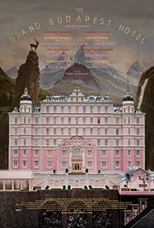 movie poster of The Grand Budapest Hotel