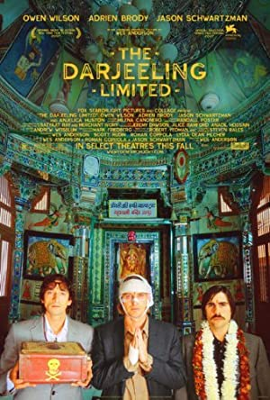 movie poster of The Darjeeling Limited