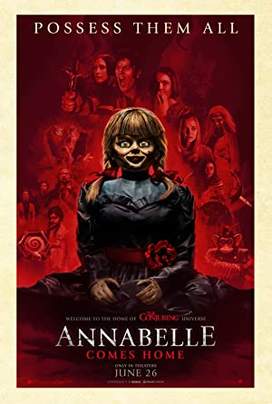 movie poster of Annabelle Comes Home