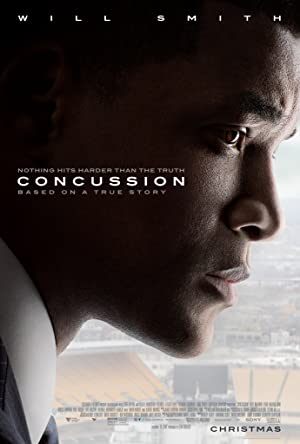 movie poster of Concussion