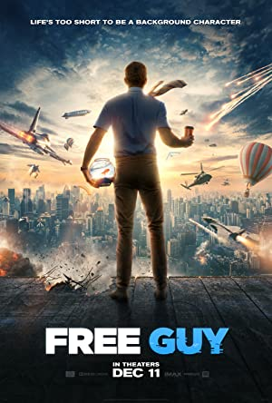 movie poster of Free Guy