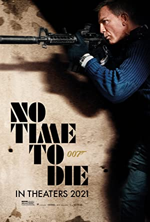 movie poster of No Time to Die