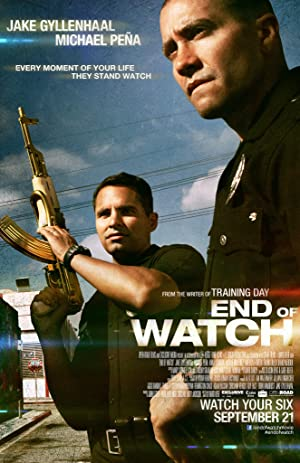 movie poster of End of Watch