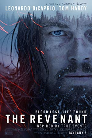 movie poster of The Revenant