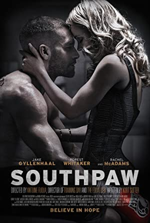 movie poster of Southpaw