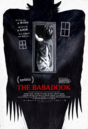 movie poster of The Babadook