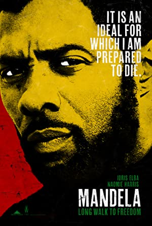 movie poster of Mandela: Long Walk to Freedom
