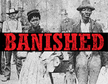 movie poster of Banished: How Whites Drove Blacks Out of Town in America
