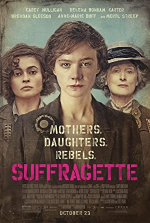 movie poster of Suffragette