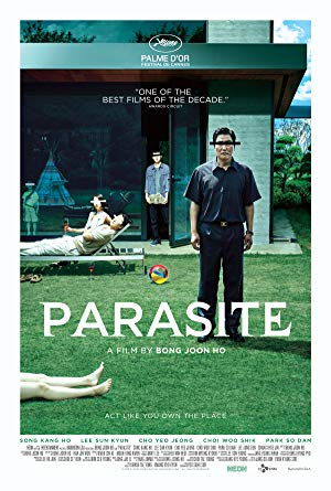 movie poster of Parasite