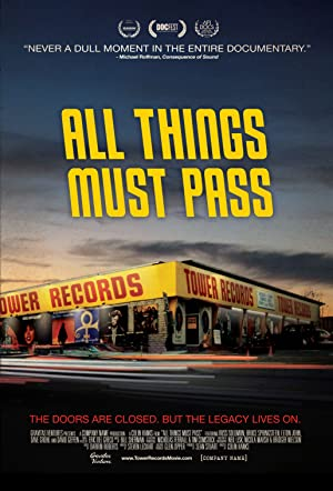 movie poster of All Things Must Pass