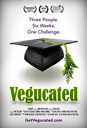 movie poster of Vegucated streaming (where to watch online?)