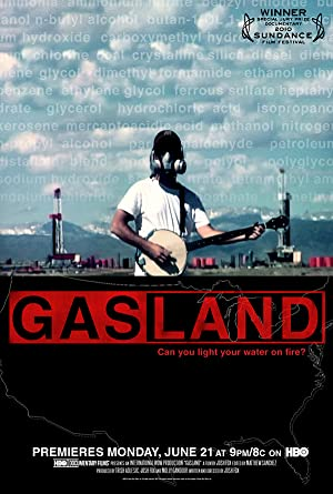 movie poster of GasLand streaming (where to watch online?)