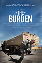 movie poster of The Burden