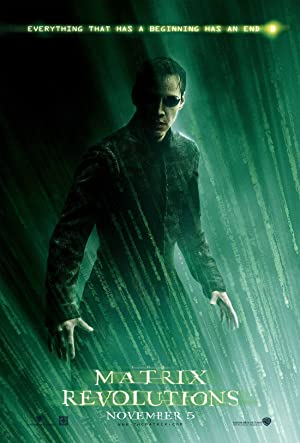 movie poster of The Matrix Revolutions