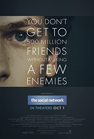 movie poster of The Social Network streaming (where to watch online?)