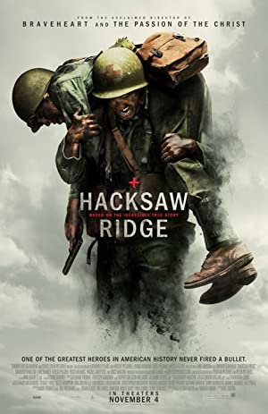 movie poster of Hacksaw Ridge streaming (where to watch online?)