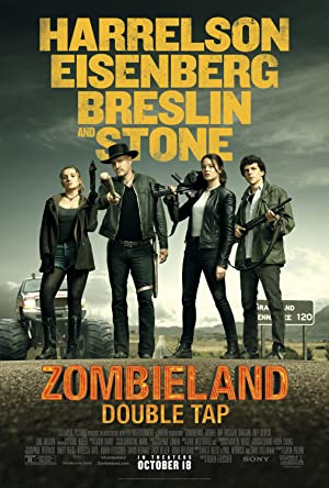 movie poster of Zombieland: Double Tap