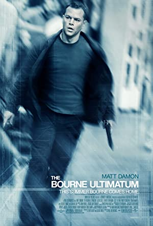 movie poster of The Bourne Ultimatum