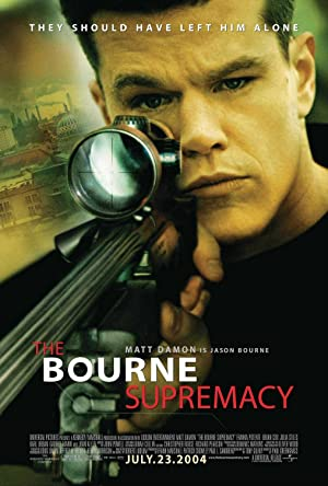 movie poster of The Bourne Supremacy