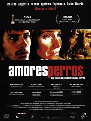 movie poster of Amores Perros