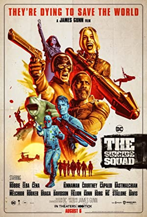 movie poster of The Suicide Squad