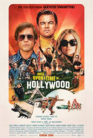 movie poster of Once Upon a Time... in Hollywood
