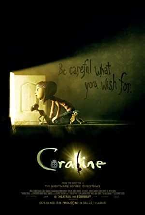 movie poster of Coraline