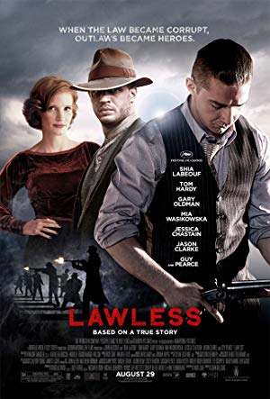 movie poster of Lawless