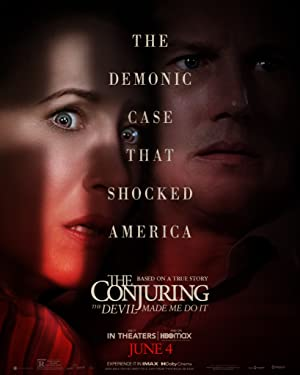 movie poster of The Conjuring: The Devil Made Me Do It