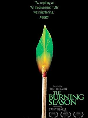 movie poster of The Burning Season