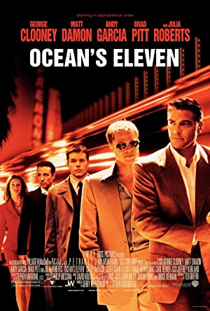 movie poster of Ocean's Eleven streaming (where to watch online?)